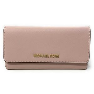 Michael Kors Jet Set Travel Trifold Wallet Blossom